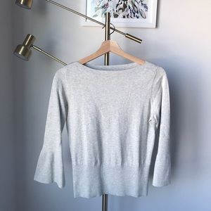 Ann Taylor sweater: so flattering!